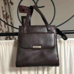 Handbags - Itty Bitty Brown Purse with added Strap